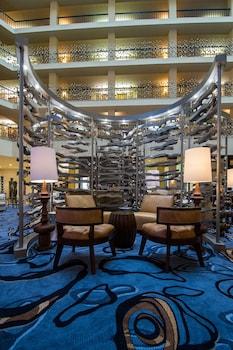 Lobby at Renaissance Philadelphia Airport Hotel in Philadelphia