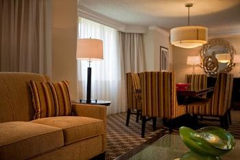 Guestroom at Tysons Corner Marriott in Vienna