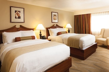 Standard Room, 2 Double Beds, Partial View (Hotel Two Double Beds)