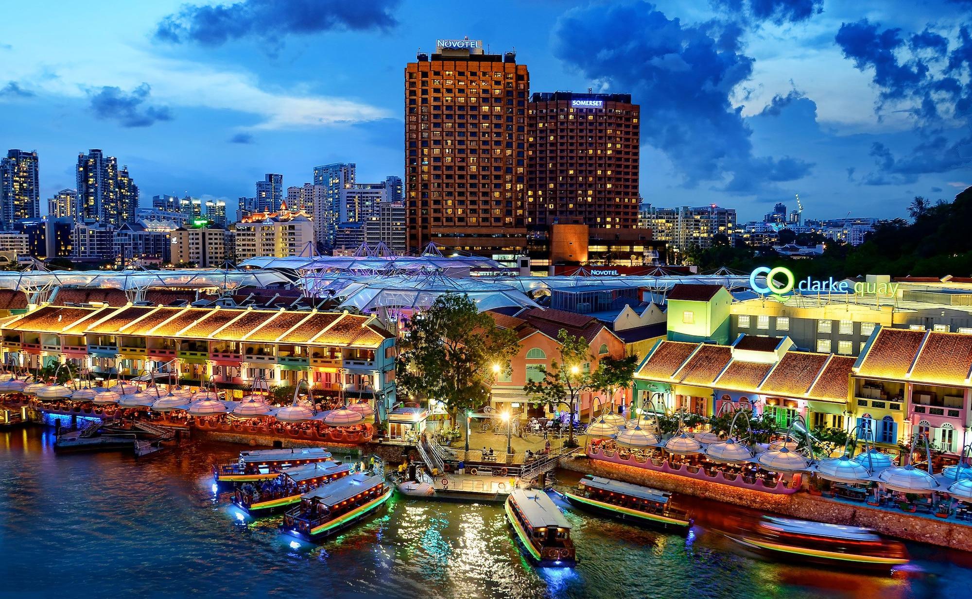 Novotel Singapore Clarke Quay, Singapore River