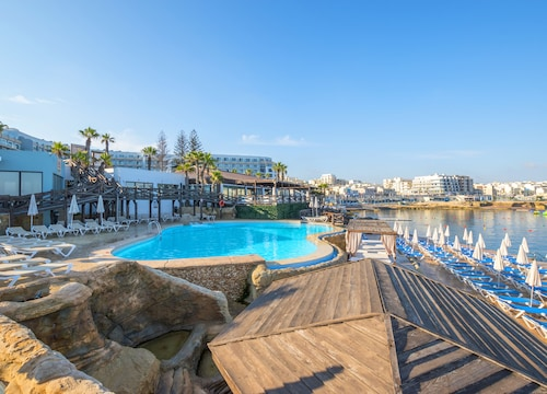 St Paul's Bay - Dolmen Hotel Malta - z Wrocławia, 4 kwietnia 2021, 3 noce