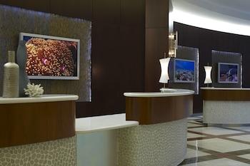 Lobby at Renaissance Orlando at SeaWorld in Orlando