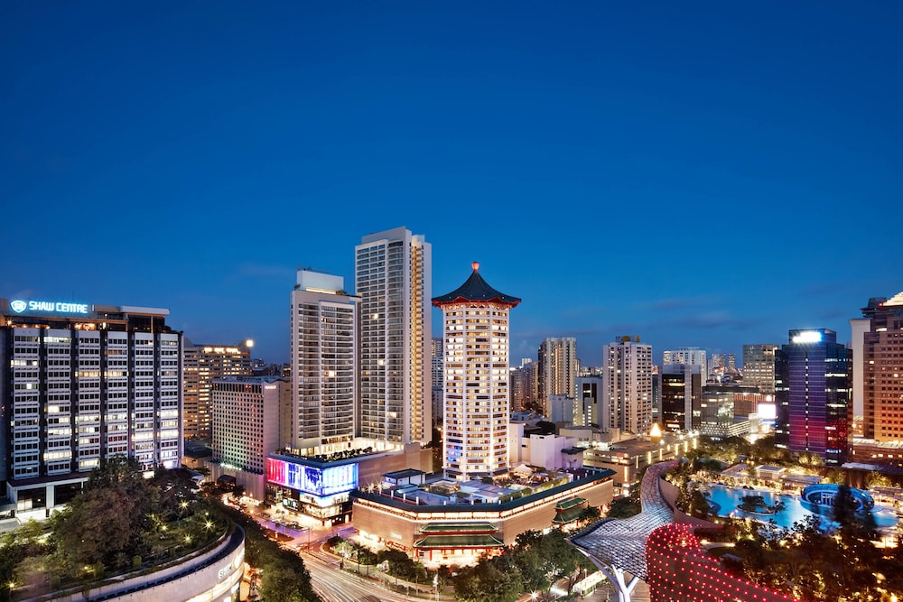 シンガポール マリオット タン プラザ ホテル