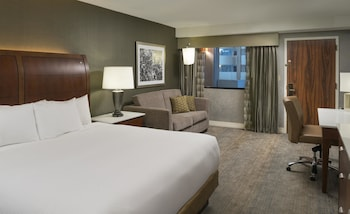 Guestroom at Hilton Washington DC/Rockville Executive Meeting Center in Rockville