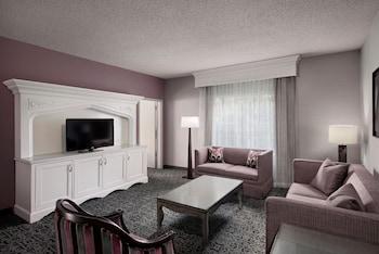 Suite, 1 King Bed (Castle Turret)
