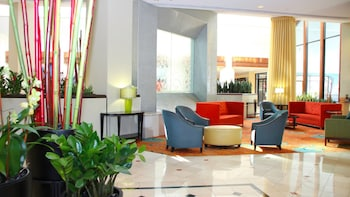 Lobby Sitting Area at Crowne Plaza Greenbelt - Washington DC in Greenbelt