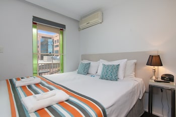 Guestroom at Central Railway Hotel in Redfern