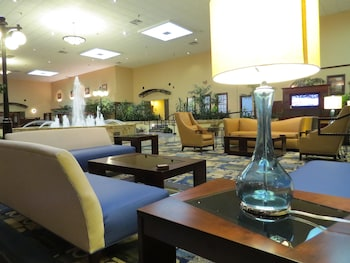 Lobby Sitting Area at Radisson Hotel Fort Worth-Fossil Creek in Fort Worth