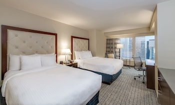 Room, 2 Double Beds, Non Smoking (Times Square View)