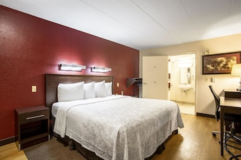 Guestroom at Red Roof Inn PLUS+ Baltimore - Washington DC / BW Parkway in Hanover