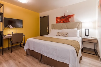 Deluxe Room, 1 King Bed, Accessible, Refrigerator & Microwave