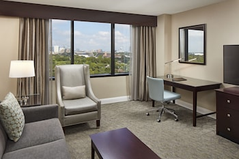 Suite, 2 Double Beds, View