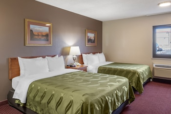Room, 2 Queen Beds, Accessible, Non Smoking (Roll-In Shower)