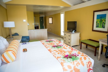 Suite, 1 King Bed, Non Smoking, Refrigerator & Microwave (No Balcony)