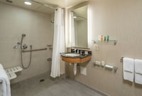Junior Suite 2 Beds Mobility/Hearing Access Roll-in Shower