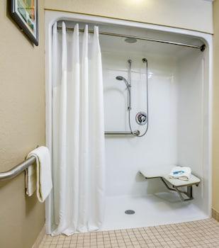 Bathroom Shower at Midpointe Hotel by Rosen Hotels & Resorts in Orlando