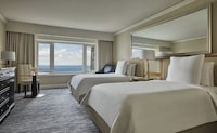 Lake View Room with two double beds