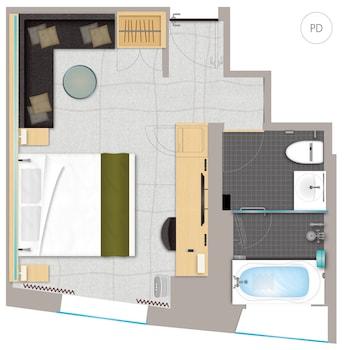 MITSUI GARDEN HOTEL GINZA PREMIER Floor plan