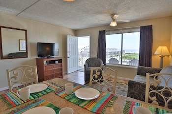 Suite, 2 Double Beds, Non Smoking (One-Bedroom, Ocean Front)