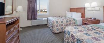 Room, 2 Double Beds, Non Smoking (One-Bedroom, Partial Ocean View)