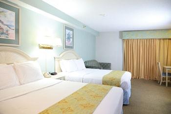 Efficiency, 2 Doubles & Sofa,  Side Ocean View, 2nd Floor