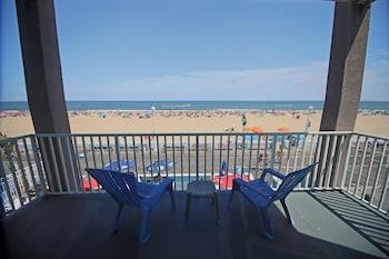 Beach/Ocean View at Flagship Oceanfront Hotel in Ocean City