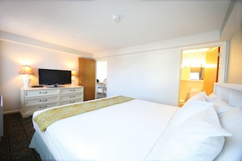 Suite, 1 King Bed with Sofa bed (No Balcony)