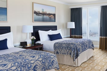 Guestroom at Boston Harbor Hotel in Boston