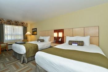 Standard Oda, 2 Büyük (queen) Boy Yatak, Buzdolabı, Havuz Kenarı