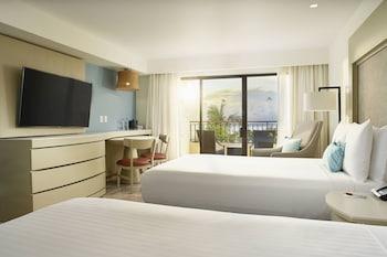 Room, 2 Double Beds, Balcony, Ocean View