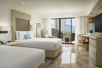 Panoramic Room, 2 Double Beds, Balcony, Ocean View