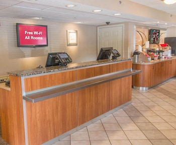 Check-in/Check-out Kiosk at Red Roof Inn Hilton Head Island in Hilton Head Island