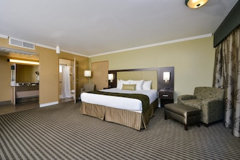 Suite, 1 King Bed, Non Smoking, Refrigerator