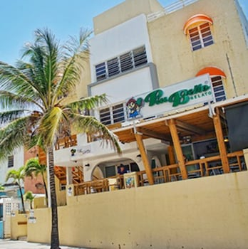 Book Sandy Beach Hotel in San Juan.