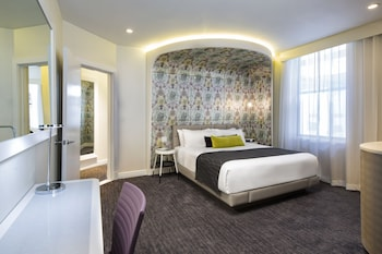 Guestroom at Dream Midtown in New York