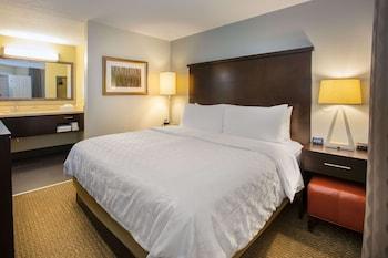 Suite, 1 Queen Bed, Accessible (One Bedroom Tub)