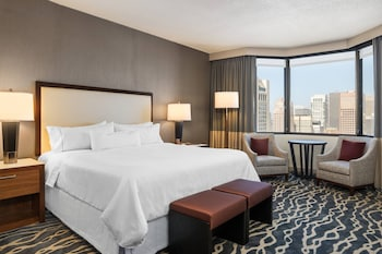 Grand Deluxe Room, 1 King Bed, City View, Tower
