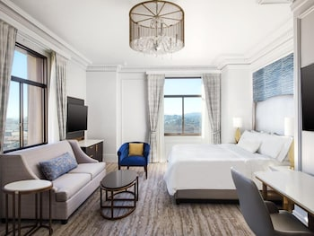 Junior Suite, 1 King Bed with Sofa bed, View (Landmark)