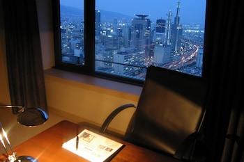 デラックス シングルルーム (30-33F, ベッドタイプのご指定不可)|37㎡|ホテルオークラ神戸