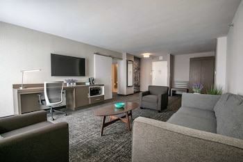 Suite, 2 Queen Beds, Accessible, Refrigerator & Microwave