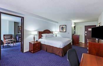 Suite, 1 King Bed, Pool View