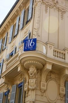 The Originals Boutique, Hôtel Le Seize, Nice Centre (Qualys-Hotel)