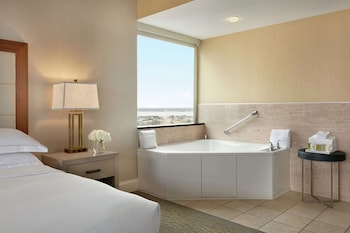 Two queens corner suite oceanfront