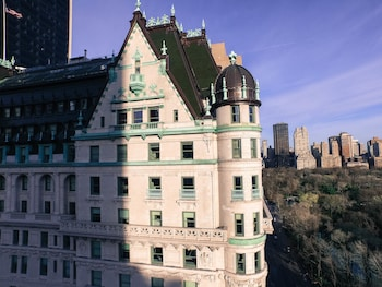 Aerial View at The Plaza Hotel in New York