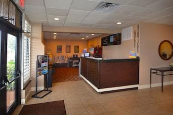 Interior Entrance at Rosen Inn, closest to Universal in Orlando