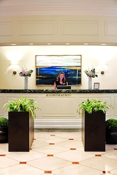 Check-in/Check-out Kiosk at Belmond Charleston Place in Charleston