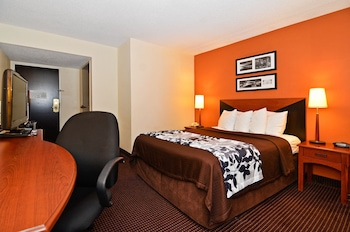 Guestroom at Sleep Inn Gateway in Savannah