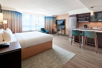 City Studio Suite, 1 King Bed, Non Smoking, City View