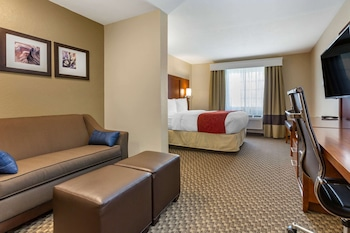 Suite, 1 Queen Bed, Non Smoking (Sofa, Accessible)