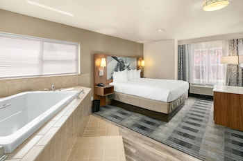 Suite, 1 King Bed, Accessible, Kitchen (Walk-in Shower)
